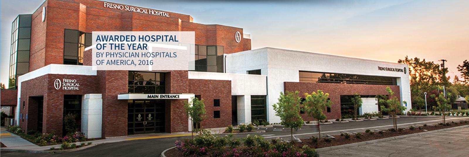 Slide Two – Hospital building
